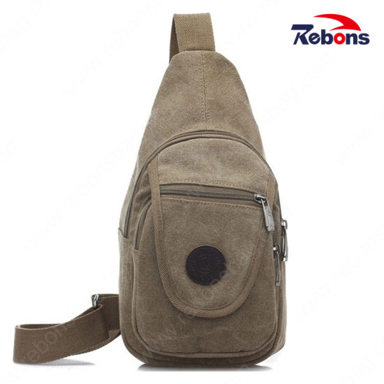 Class Chest Bag Triangle Portable Backpack for Hikking