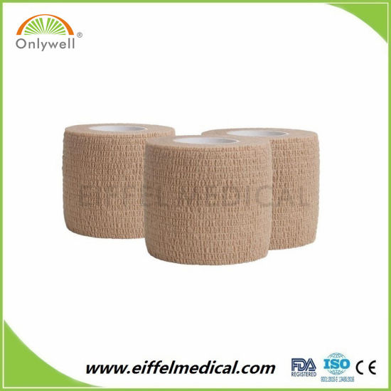 Medical Care High Quality Waterproof Flexible Cohesive Bandage