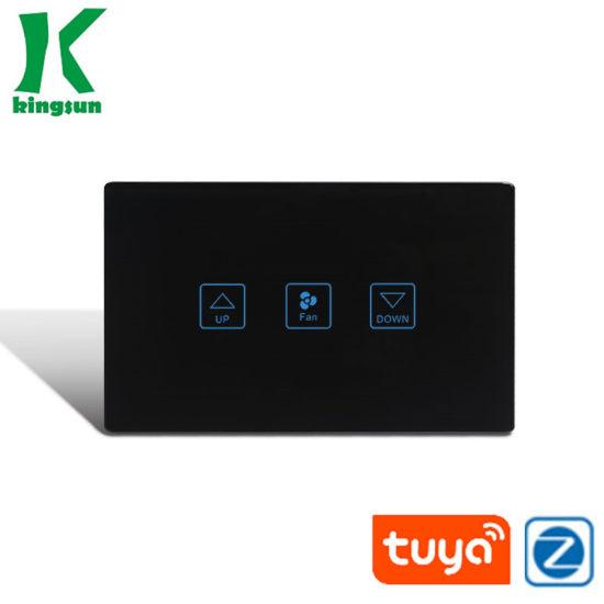 Us Standard 118 Tuya Zigbee Fan Speed Smart Touch Switch