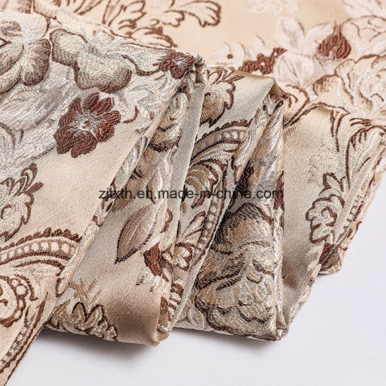 100% Polyester Sofa Designs Custom Pattern Woven Jacquard Fabric for Sofa pictures & photos