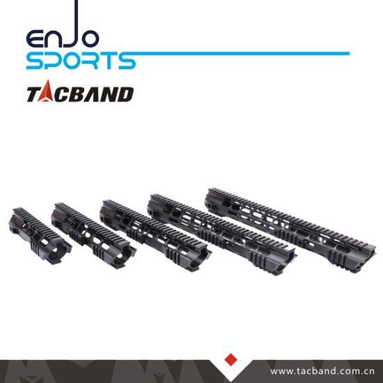 6061-T6 Aluminum Tactical Free Float M-Lok Handguard for Ar15 M16 M4 Rifle with Picatinny Rail Section pictures & photos