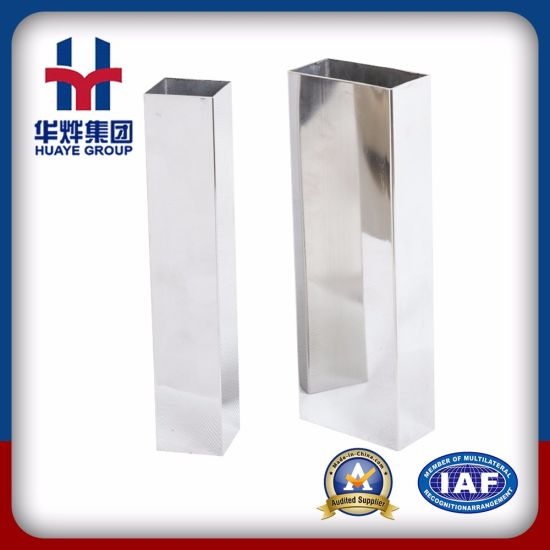2b/Ba Surface Stainless Hr/Cr Stainless Steel Square Pipe pictures & photos