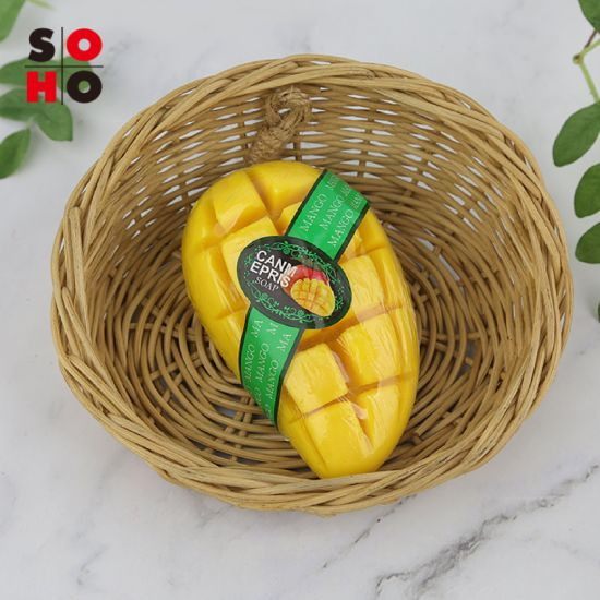 Mango Handmade Soap Natural Skin Care Facial and Body Cleaning Soap
