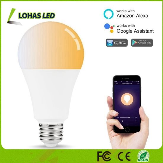 14W A21 E26 Tunable White Smart Light Voice Control Bulb for Home Decoration pictures & photos