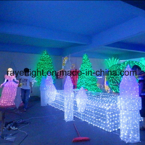 theme park lighting decoration led outdoor christmas decorations - Led Outdoor Christmas Decorations