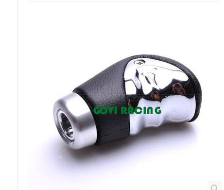 Leather Car Gear Shift Knob Leather Manual Universal
