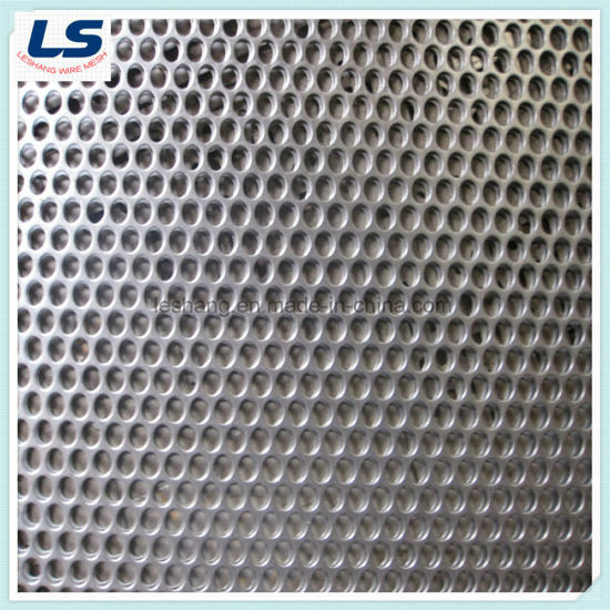 China Stainless Steel Perforated Metal Panel round hole - China ...
