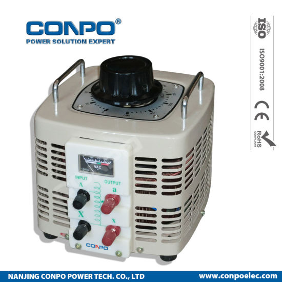 Tdgc2-5000va 1phase Contact Voltage Regulator/Variable Transformer pictures & photos