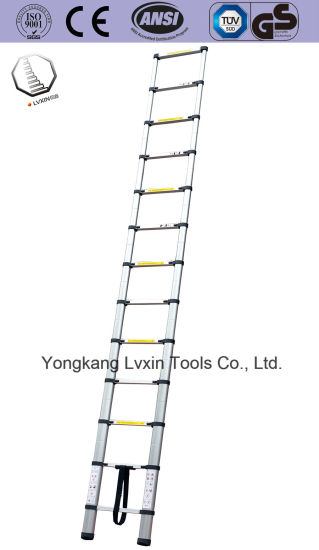 Aluminium Telescopic Ladder with Single or Double Side pictures & photos
