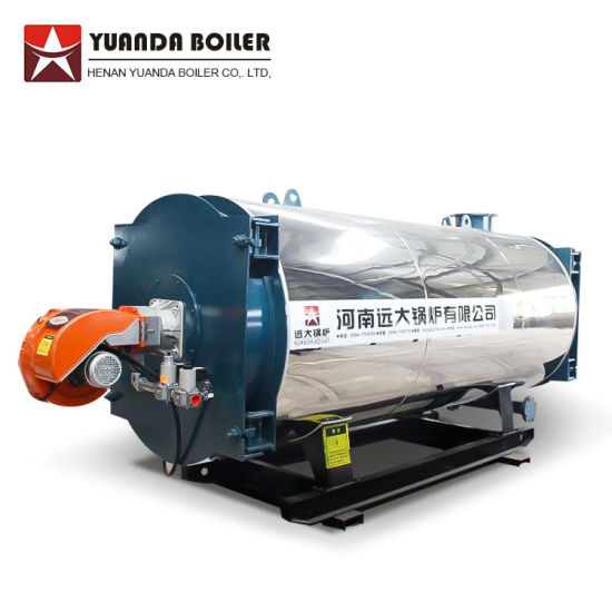 China 0.35MW to 7MW Gas Hot Water Boiler for Hotel Greenhouse ...