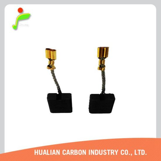Wholesale Cheaper Lead Free Water Pump Carbon Brush 6X8X18/Carbon Brushes for Small DC Motor/Carbon Brush Size pictures & photos