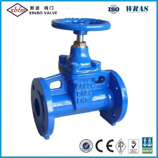 OEM/ODM Factory DIN3352-F5 Non-Rising Stem Cast Iron Metal Seated Gate Valve