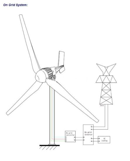 China 5kw 220v Home Wind Power Generator Price With Ce Approved