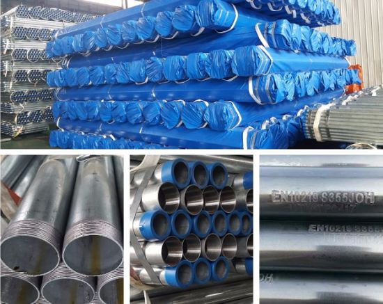 BS1387 En10255 ASTM A53 B Hot Dipped Galvanized Gi Pipes pictures & photos