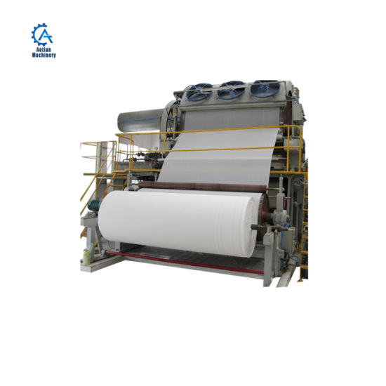Toilet Paper Manufacturing Plant Toilet Paper Machine