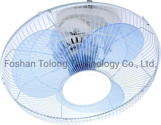 16 Inch Full ABS Plastic Orbit Oscillating Wall Mount Fan