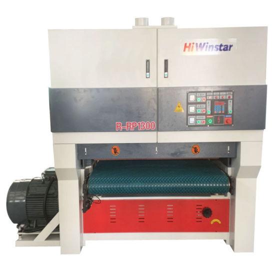 R-RP1300 Heavy Duty Woodworking Sander Machine Wood Panel 1300mm Wide Belt Sanding Machine