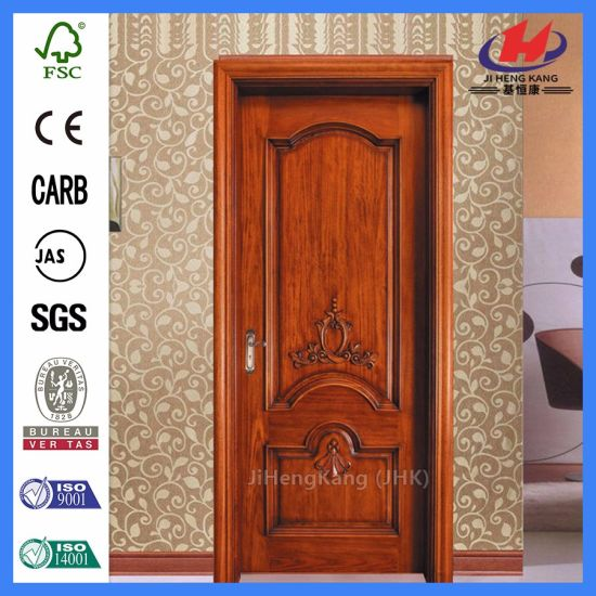 China Hand Carved Wood Door Frame Solid Wood Internal Doors - China ...