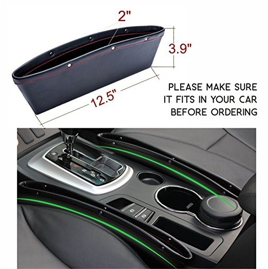 China Custom Car Side Pocket Organizer Between Seats and Console ...