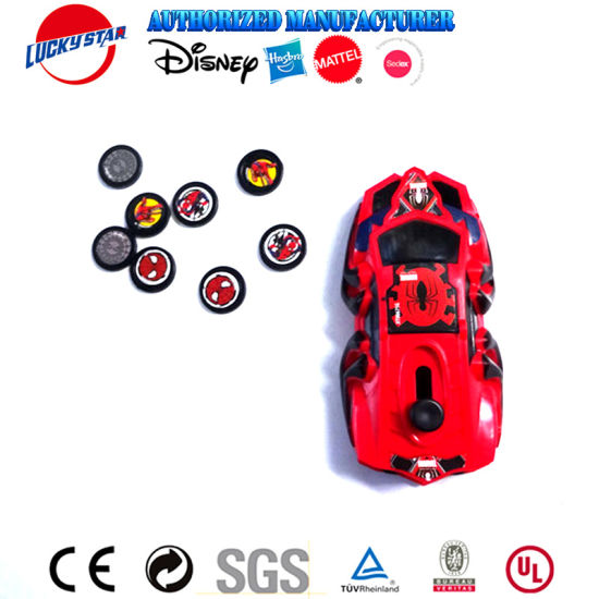 High Quality Car Disc Shooter Children Plastic Toys for Promotion