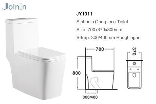 Sanitary Ware Bathroom Ceramic Wc Toilet Bowl From Chaozhou with Accessories (JY1011) pictures & photos