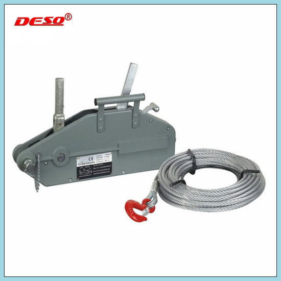 China Steel Wire Rope Pulling Hoist or Manual Lifting Tirfor - China ...