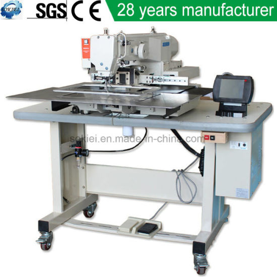 High Speed Wholesales Manufacturer Industrial Computerized Embroidery Sewing Machine