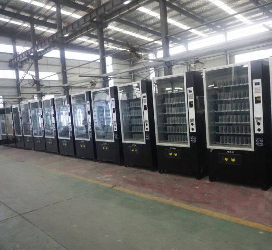 Tcn Small Cold Drink Automatic Vending Machine with Coin Acceptor