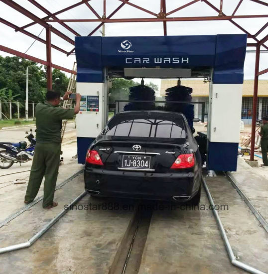 Spray Car Wash >> Commercial Five Brushes Fully Automatic Rollover Car Wash Machine With Spray Foam And Wax Dry Systems C7