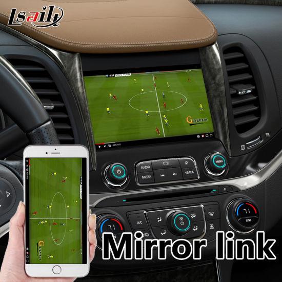 Car Video Interface for Chevrolet Impala / Suburban Mylink System Youtube  Mirrorlink GPS Navigation