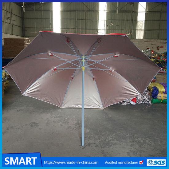 China 2018 Hot Sale Advertising Beach Umbrella Promotion Beach
