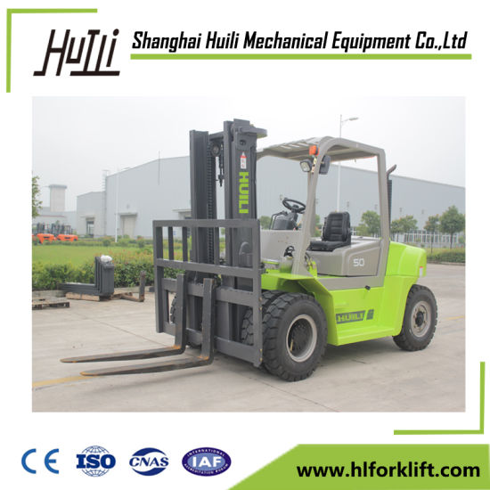 Hydraulic Transmission Diesel Engine Forklift Truck pictures & photos
