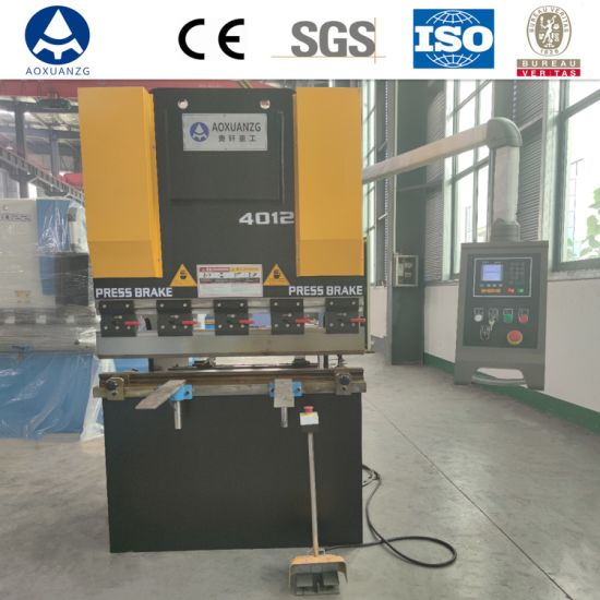 CNC Hydraulic Metal Bending Machine (WC67Y/K-40t*1200) Small Press Brake with ISO9001 Ce Certification