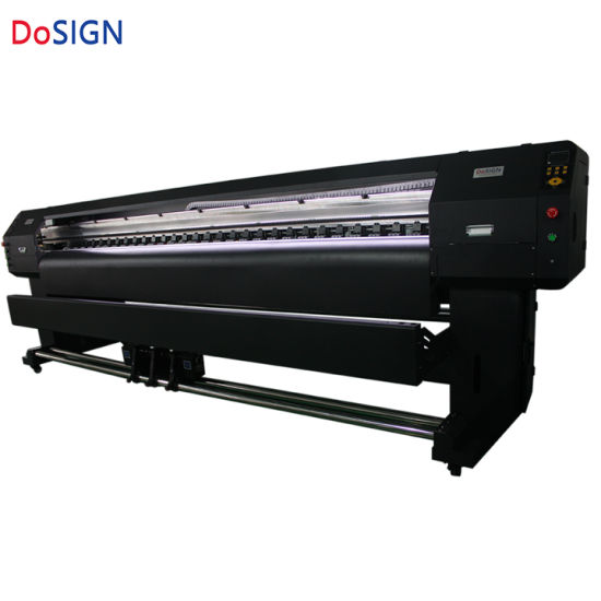 1 6m 1 9m 3 2m Large Format Billboard Eco Solvent Printer with Epson Dx8  Printheads