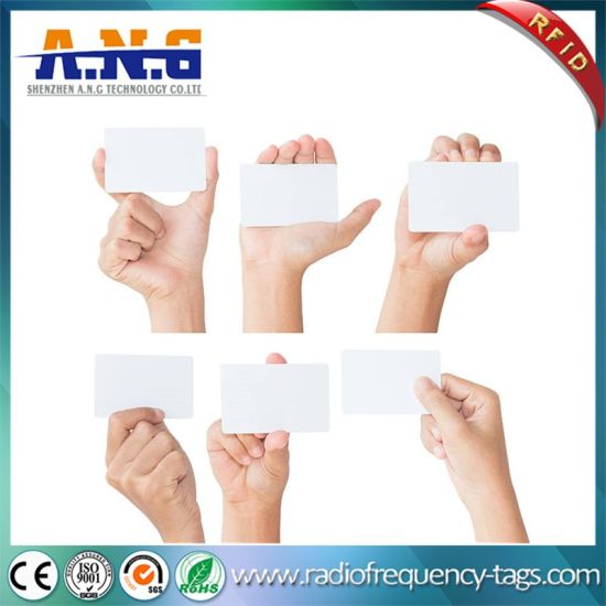 Ntag 413 RFID Chip PVC White Card for Enhanced Product and Brand Protection