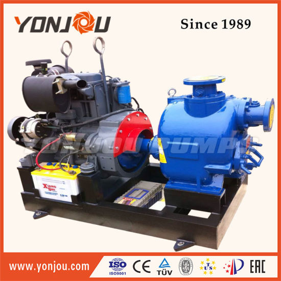 Zw Self-Priming Series Drainage Waste Water Pump for Civil Engineering Site