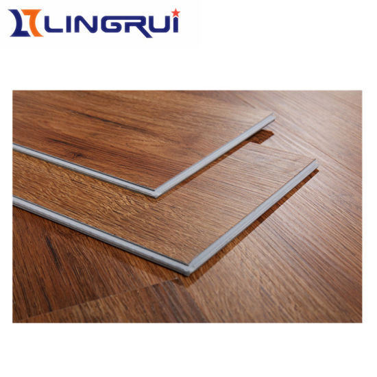 Good Quality Spc Vinyl Flooring In Wood Color