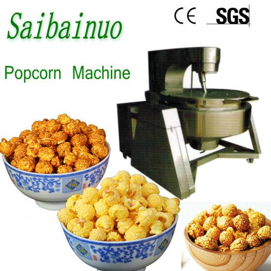 Chocolate Flavors Industrial Popcorn Making Machine
