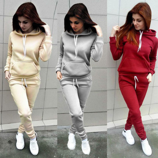 Young Women Fit Body Blank Tracksuit