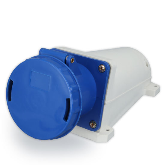 125A 2p+E IP67 High Quality Surface Mounted Socket 143 with Economic Price