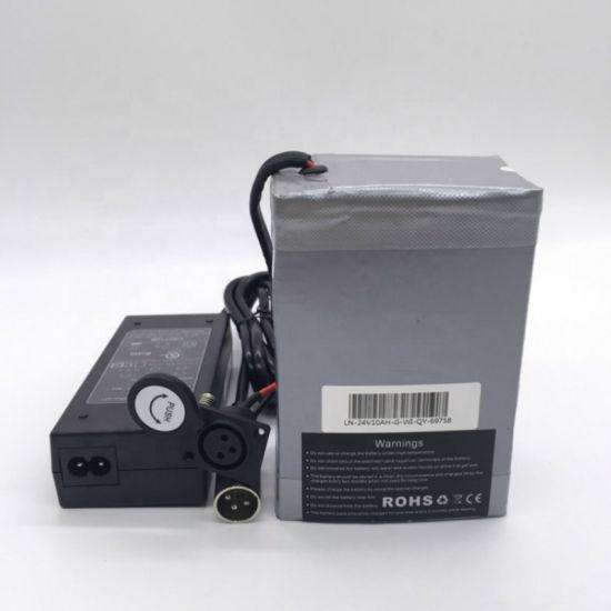 24V 10ah Icr 18650 Lithium Ion Battery for Golf Cart/E-Bike