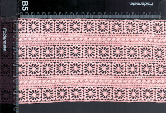 Newest Swiss Hot Sell Cotton Chemical Lace Trim pictures & photos