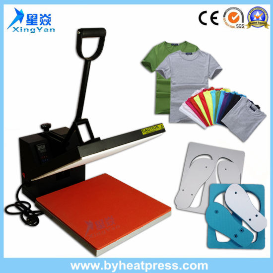 Factory Wholesale Price High Pressure Heat Press Machine Flat Panel Easy Operation For Sublimation Printing