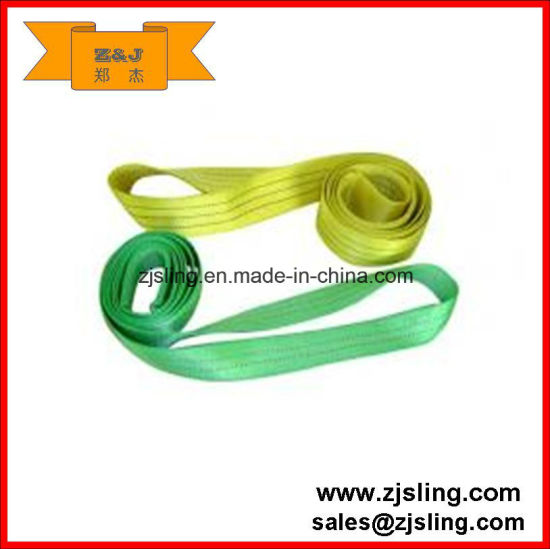 2t Endless Polyester Webbing Lifting Round Sling (L=customized)