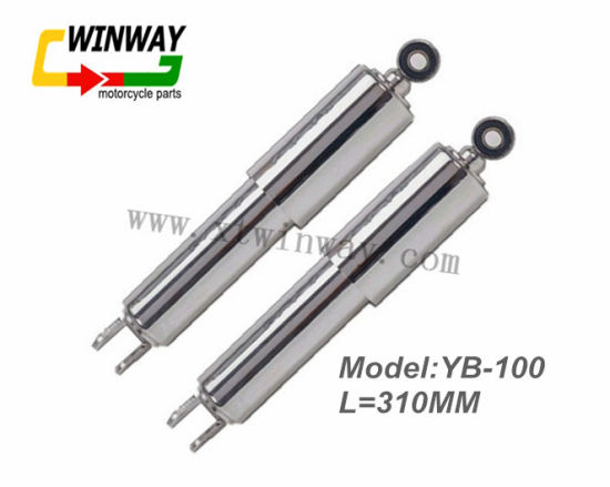 Ww-6217 Motorcycle Parts Steel Rear Shock Absorber for Yb100