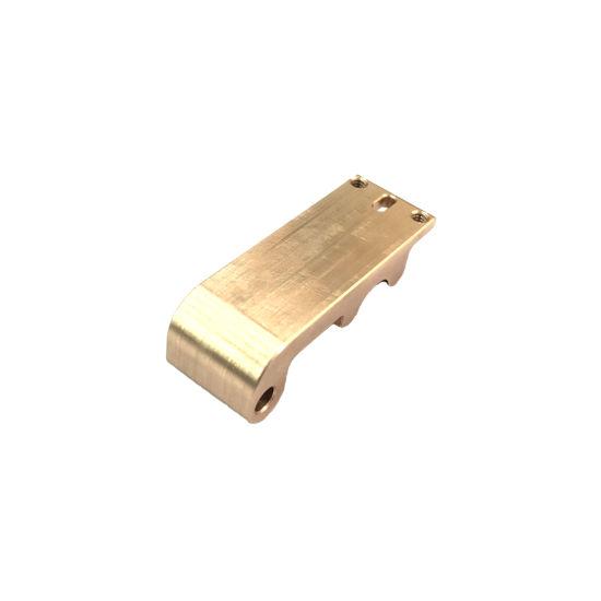 Customized Machined Precision Copper Polishing CNC Machining Parts Screw Nut