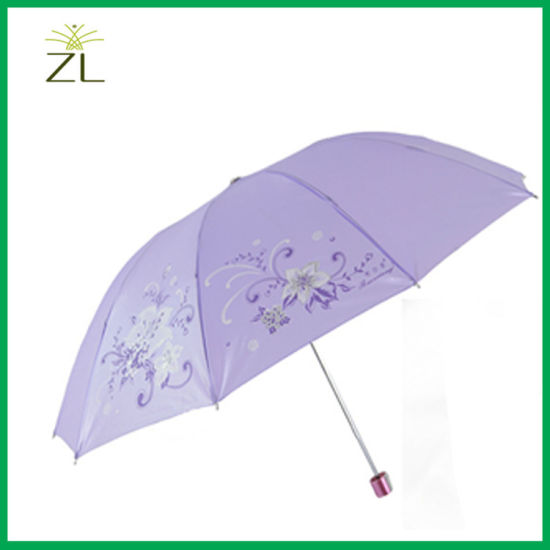 Printed Polyester Umbrella Custom Print Umbrella pictures & photos