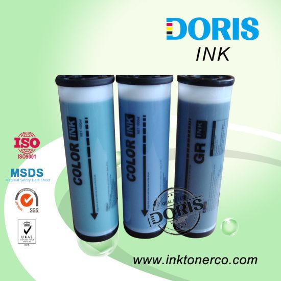 Gr Color Ink For Riso Duplicator Green Blue Black