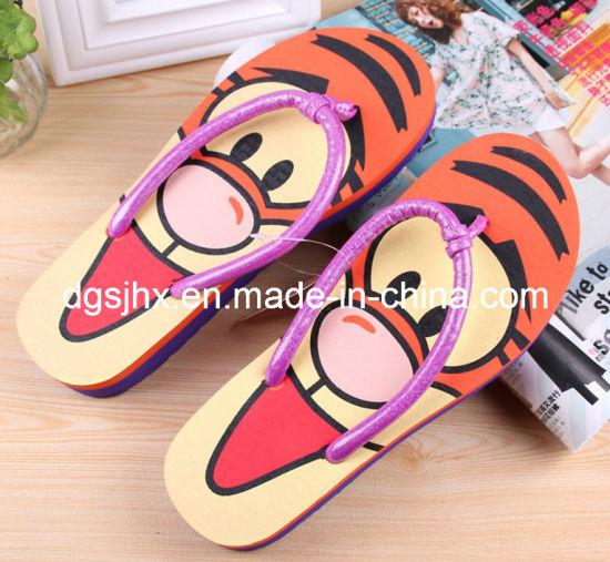 a85838ea77b087 China High Heel EVA Flip Flops for Ladies - China High Heel Flip Flp ...
