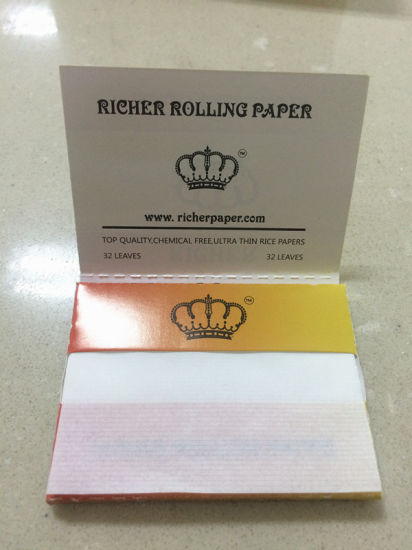 Fine Quality Kingsize Premium Rolling Paper, Thin Paper pictures & photos